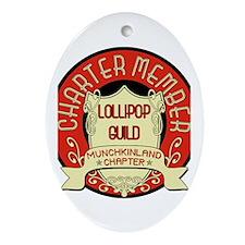 Lollipop Guild Oval Ornament