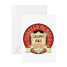 Lollipop Guild Greeting Card
