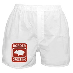 Border Crossing Boxer Shorts