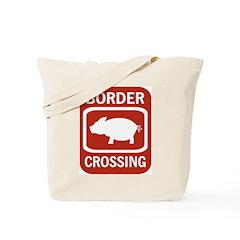 Border Crossing Tote Bag