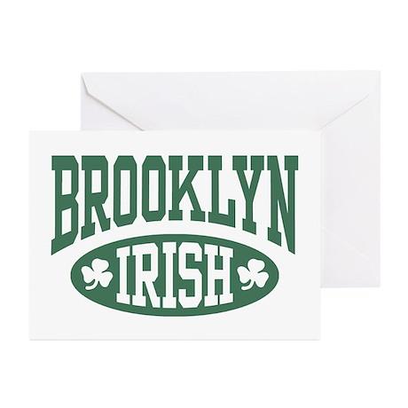 Brooklyn Irish Greeting Cards (Pk of 10)