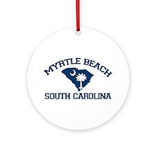 Myrtle Beach SC Ornament (Round)
