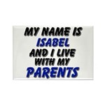 my name is isabel and I live with my parents Recta