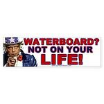 Waterboard? Bumper Sticker