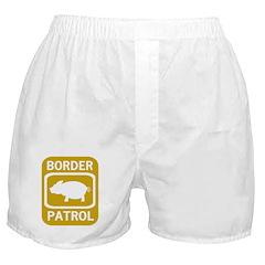 Border Patrol Boxer Shorts