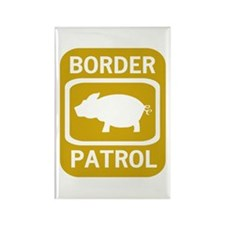 Border Patrol Rectangle Magnet