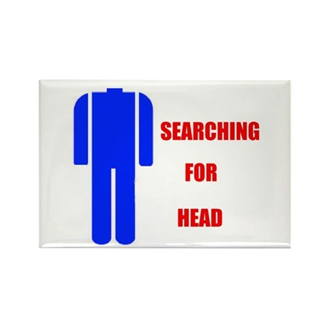 HEAD SEARCHER Rectangle Magnet (10 pack)
