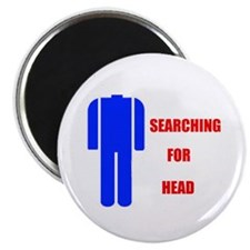 HEAD SEARCHER Magnet