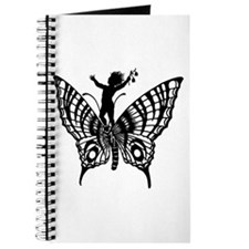 Butterfly Silhouette Journal