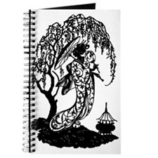 Elegant Garden Silhouette Journal