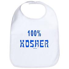 100% Kosher Bib