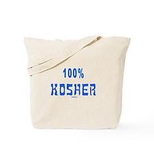 100% Kosher Tote Bag