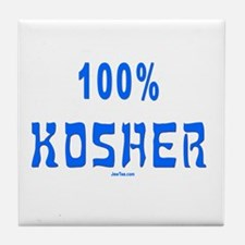 100% Kosher Tile Coaster