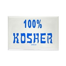100% Kosher Rectangle Magnet