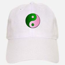 The Ying and Yang of Being Wicked Baseball Baseball Cap