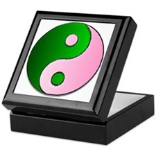 The Ying and Yang of Being Wicked Keepsake Box