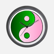 The Ying and Yang of Being Wicked Wall Clock