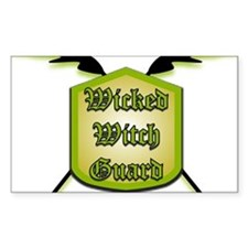 Which Witch Rectangle Decal