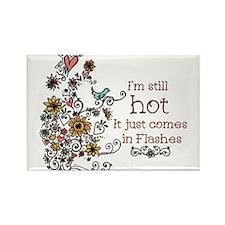 Hot Flash Rectangle Magnet