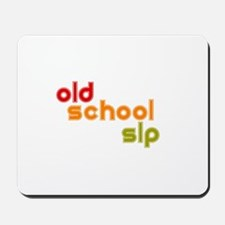 Old School SLP Mousepad