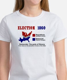 Election 1860: Women's T-Shirt