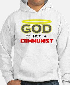 GOD is not a Communist Hoodie