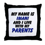 my name is imani and I live with my parents Throw