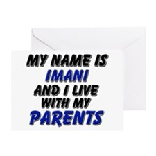 my name is imani and I live with my parents Greeti