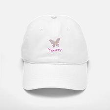 Pink Butterfly Tammy Baseball Baseball Cap