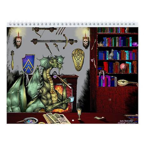 Dragon's Den Wall Calendar