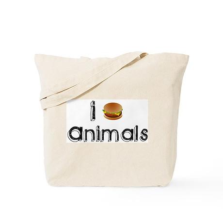 I eat Animals Tote Bag