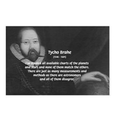 Astronomy Tycho Brahe Postcards (Package of 8)