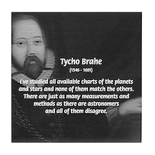Astronomy Tycho Brahe Tile Coaster