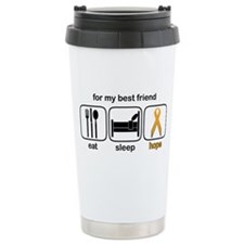 Best Friend ESHope Leukemia Travel Mug
