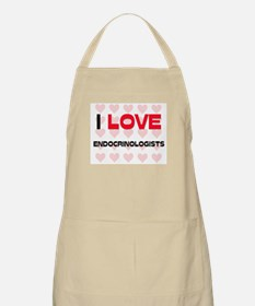 I LOVE ENDOCRINOLOGISTS BBQ Apron