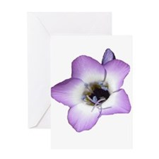 Purple Flower Mother's Day Greeting Card