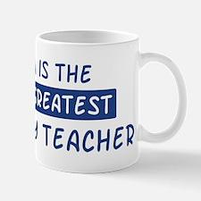 Geography Teacher Mom Mug