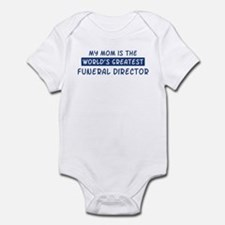 Funeral Director Mom Infant Bodysuit
