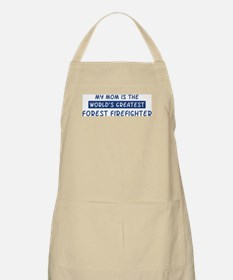 Forest Firefighter Mom BBQ Apron