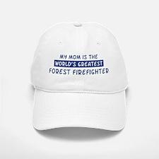 Forest Firefighter Mom Baseball Baseball Cap
