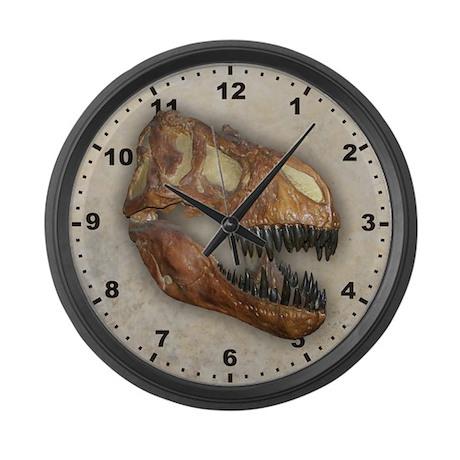 Tyrannosaurus Large Wall Clock