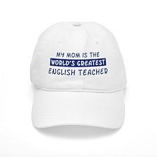 English Teacher Mom Baseball Cap