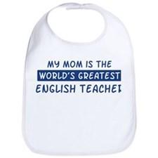 English Teacher Mom Bib
