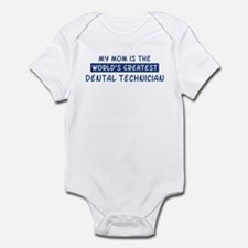 Dental Technician Mom Infant Bodysuit