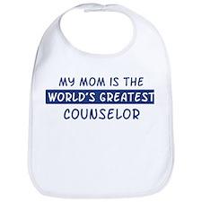 Counselor Mom Bib