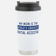 Dental Assistant Mom Stainless Steel Travel Mug