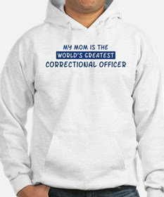 Correctional Officer Mom Hoodie