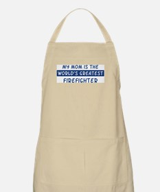 Firefighter Mom BBQ Apron