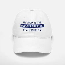 Firefighter Mom Baseball Baseball Cap