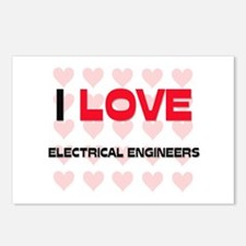 I LOVE ELECTRICAL ENGINEERS Postcards (Package of